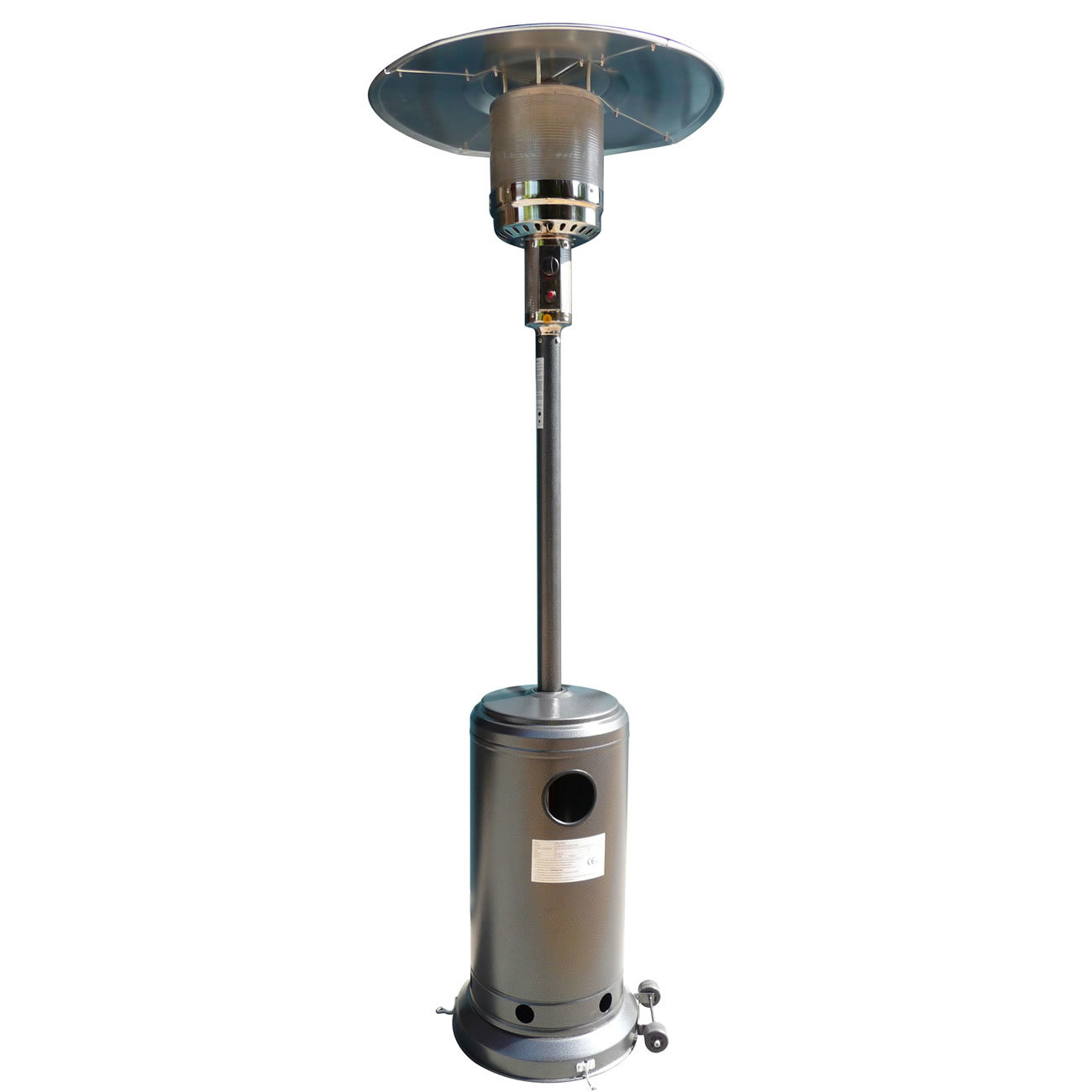 Royal Antique Silver Gas Patio Heater 1