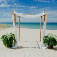 Bamboo Arch Ceremony At Weko Beach