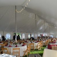 Cafe Lighting Pole Tent 2