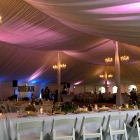 Chandeliers with Custom Uplighting