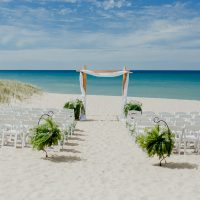 Weko Beach Ceremony Slide:  Photo by Gingertown Photography