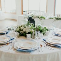 White China Tabletop, Photo:  Gingertown Photography