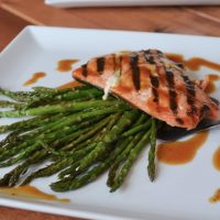 Wild Caught Coho Salmon With Asparagus