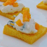 Polenta Crostini - catering menu item