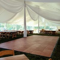 40X100 Cafe Lights Draping