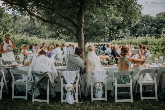 Michigan Vineyard Wedding