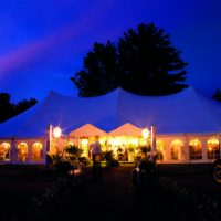 Tent With Marquee